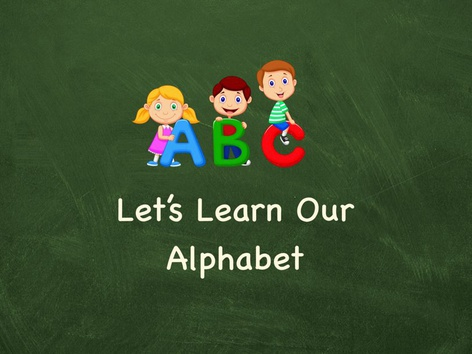 Let's learn The alphabet by Teresa Grimes