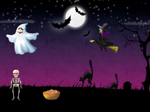 Halloween Shapes Puzzle by Viviane de Araujo Cardozo