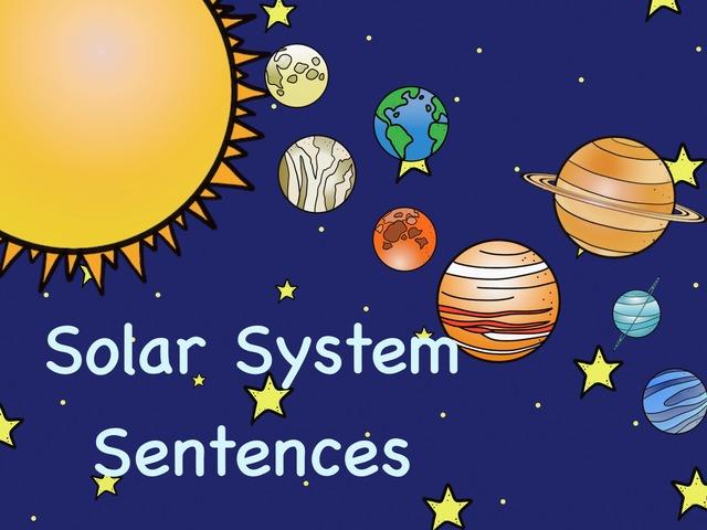 Solar System Sentences by Kathy Gordon