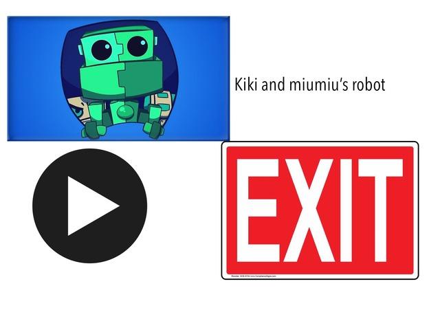 Kiki And Miumiu's Robot by Fandroid GAME!