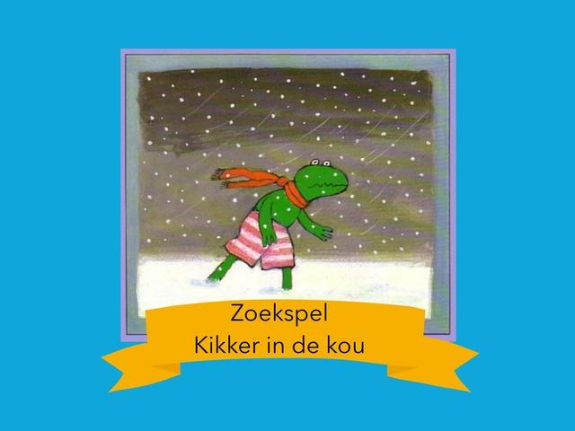 Zoekspel. Kikker In De Kou by Yoshi Dequeecker