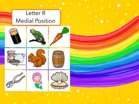 Letter R : Medial Position Of Words  by Carol Smith