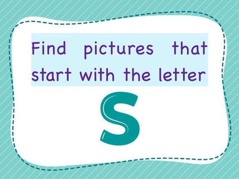 Letter S by SF ALhajiry