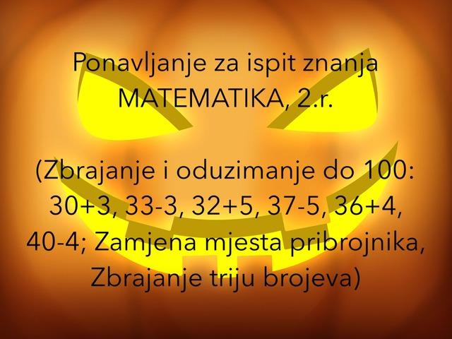 Ponavljanje Matematika 2.r. by natasa delac