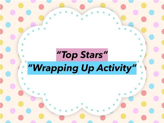 "Top Stars ""Wrapping Up Activity"" by dalia daliasakr"
