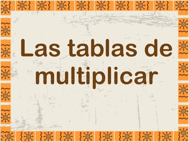 Tablas de multiplicar para Teléfonos  by Elysia Edu