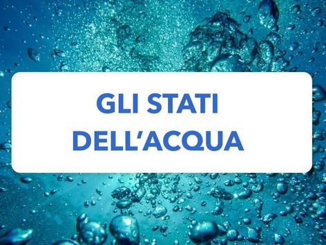 Gli Stati Dell'acqua by Veronica Zonta