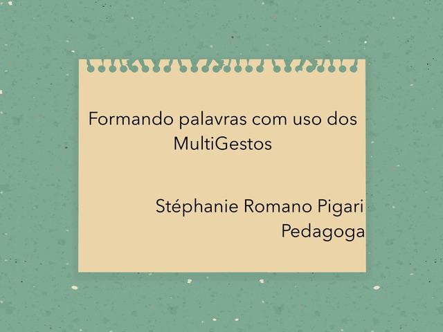 Formando Palavras-M by Stephanie Romano Pigari