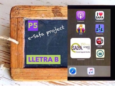 La Lletra B Pal by Sagrada Familia c/urgell