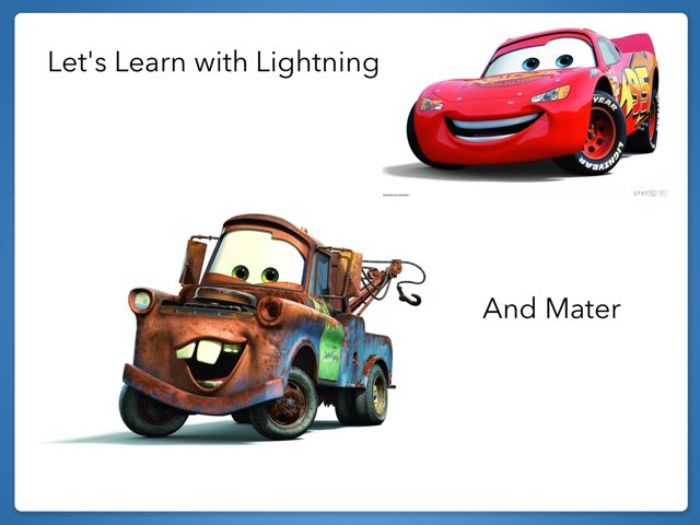 Lightning And Mater by Kristin Meadows