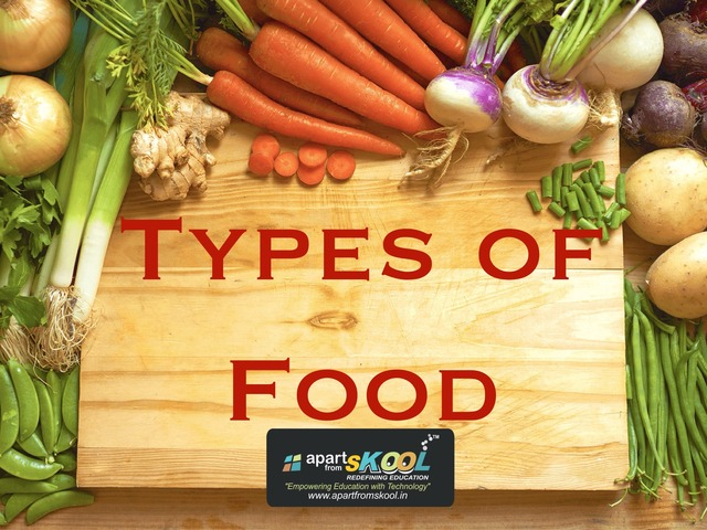 Types Of Food by TinyTap creator