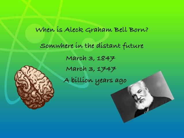 Alexander Graham Bell by Room 207