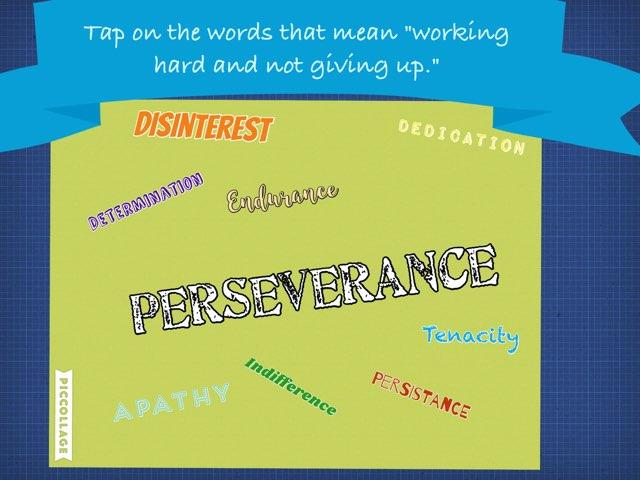 DPJH GRIT -Perseverance  by Leslie Kilbourn