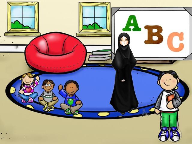 حصيلة لغوية روضتي by sara Al-salman