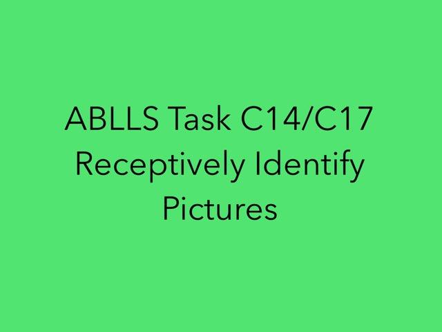 ABLLS Task C14/C17 by Naomi Billquist