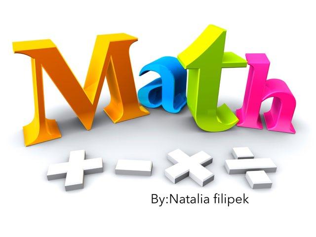 Math by Natalia Filipek