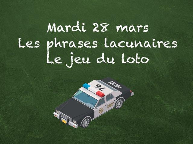 M - Mar28 - Phrases Et Loto by Caroline Gozdek