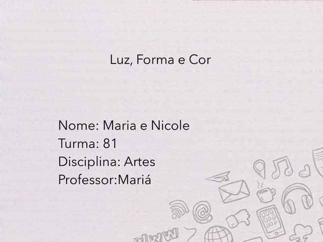 Maria e Nicole  by Rede Caminho do Saber