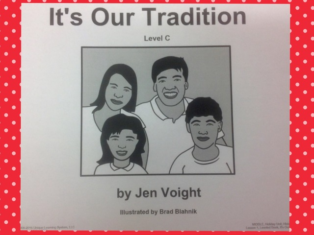 December Unit: Traditions Intro. - Reading by Tanya Folmsbee