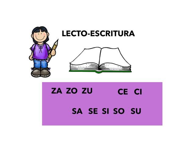 Lecto-Escritura C-Z Y S by Francisca Sánchez Martínez