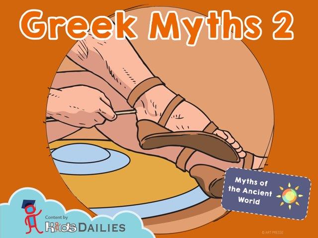 Greek Myths II by Kids Dailies
