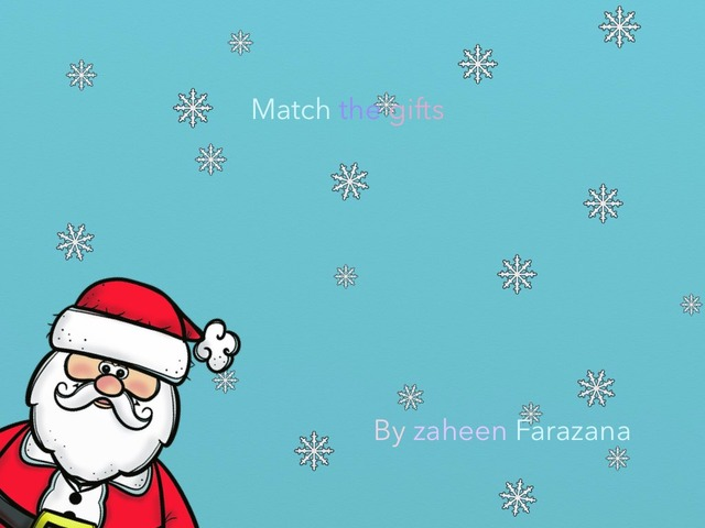 Match The Present by Idah Rahman