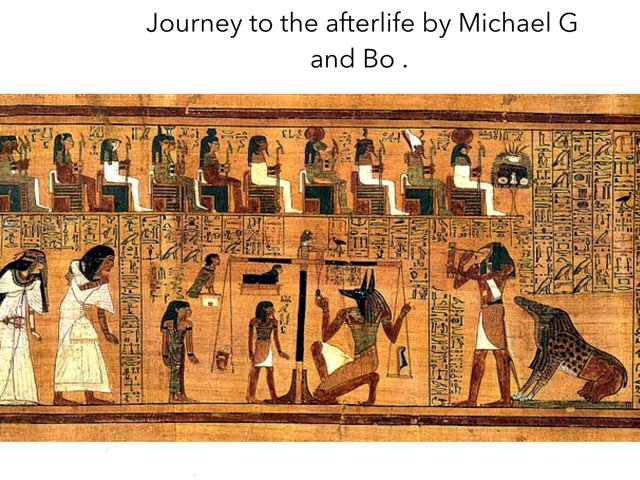 Egyptian Game By Michael, Bo And Mr G  by St Cecilias