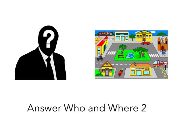 Answer Who Or Where 2 by Madonna Nilsen