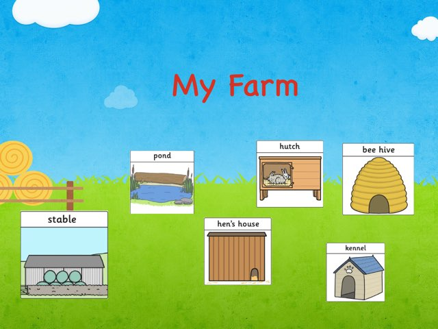 Farm Animals' Homes by Nikol Hellebrandova