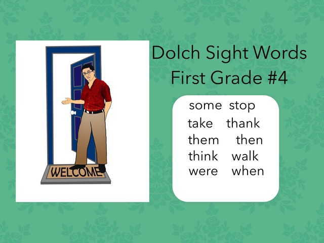 Dolch Sight Words: First Grade #4 by Carol Smith