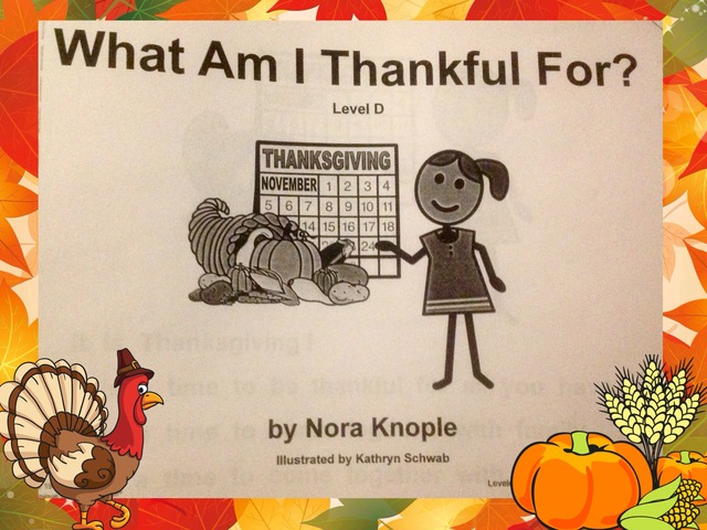 What Am I Thankful For? by Tanya Folmsbee