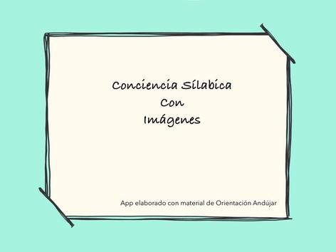 Conciencia Silábica Con Imágenes  by Zoila Masaveu