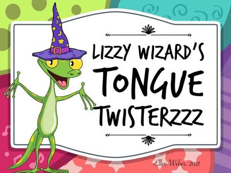 Tongue Twisterzzz by Ellen Weber