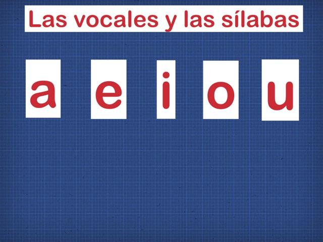 Vowels and syllables/ Vocales y sílabas by Rosalva Correa