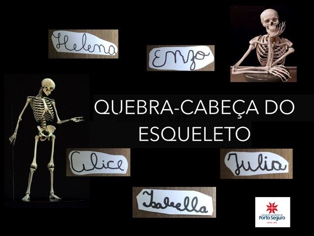 QUEBRA-CABEÇA DO ESQUELETO by Mônica de Cassia Souza Ricca