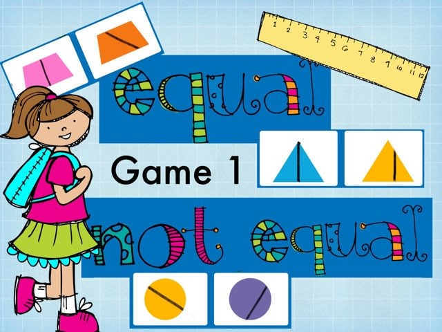 Equal Or Not Equal Game 1 by Jennifer