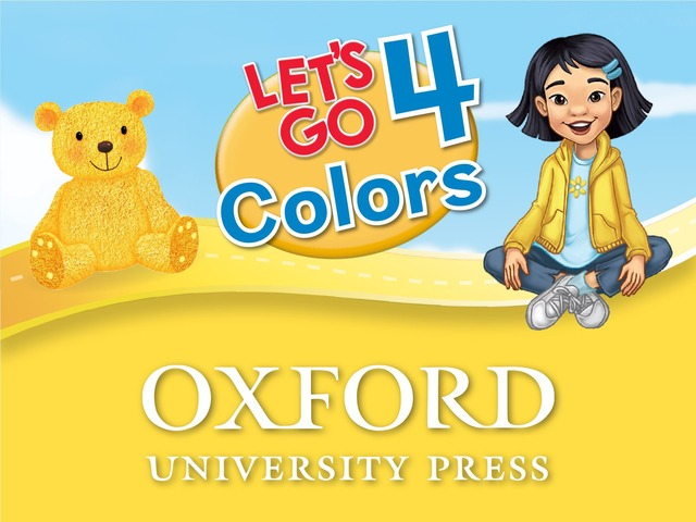 Let's Go: Colors - Let's Learn To Read by Oxford University Press