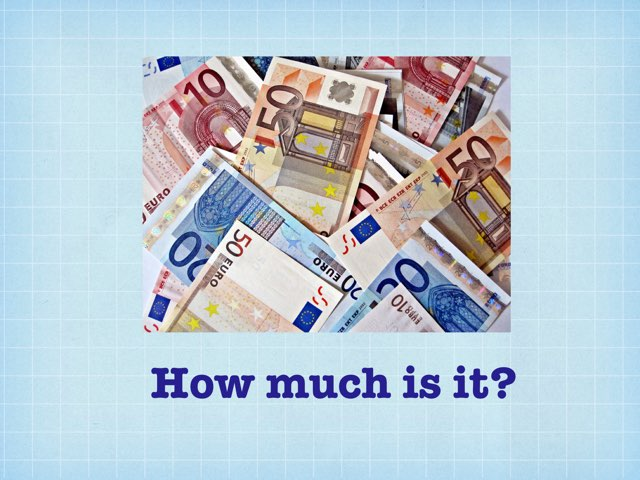 How much is it? Euros by Louise Ng