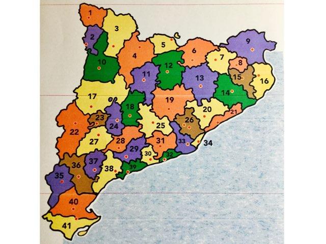 Comarques De Catalunya by Rosa Pjd