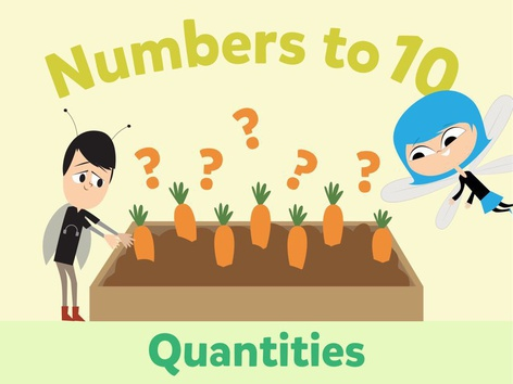 Numbers To 10: Quantities by Math Learning Plan