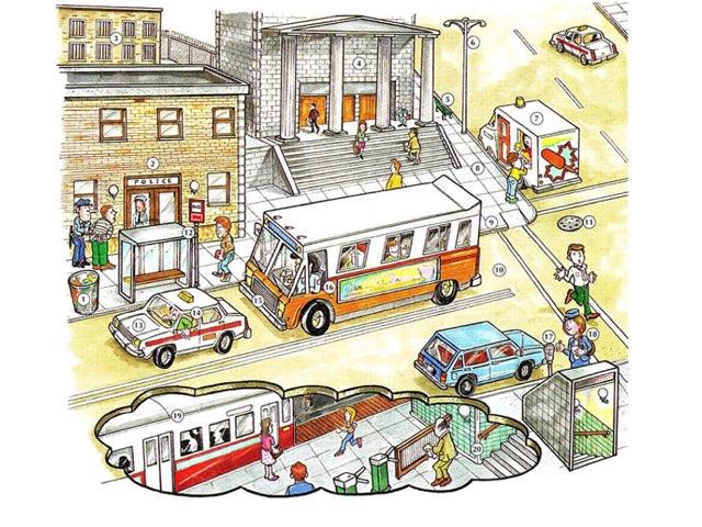 City Vocabulary by Vanessa Porter