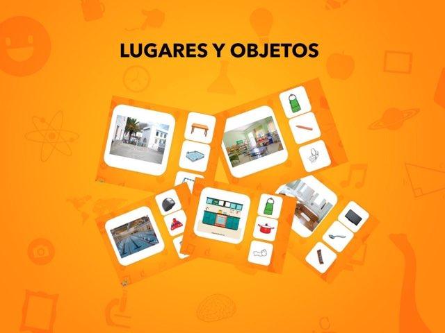 Asociaciones Lugares Y Objetos by Francisca Sánchez Martínez