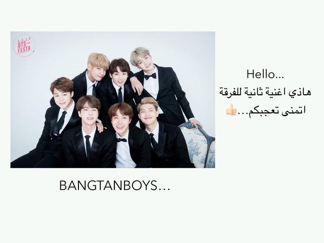 Music…BTS by 가다 아메드..♈️ ....