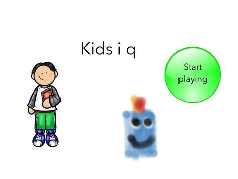 Kids i q English (USA) by