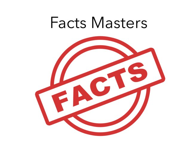 Facts Masters  by Kate Beaulieu