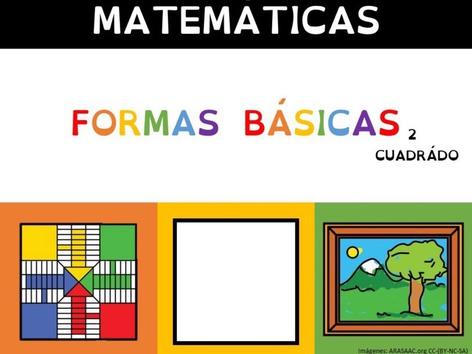 Formas Básicas 2 (cuadrado) by Sergio Mesa Castellanos