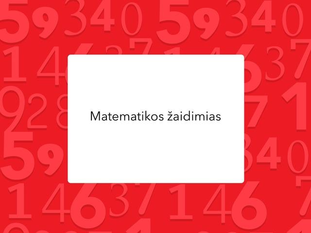 Kristijono žaidimas matematika by Mokytoja Ilona