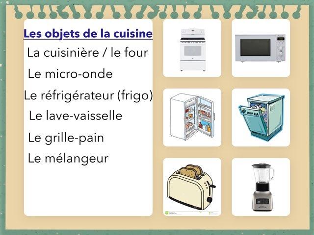 Les Objets De La Cuisine 1 by Eve-Marie D'Aragon