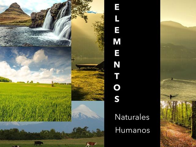 Elementos Naturales Y Humanos by Jose Sanchez Ureña