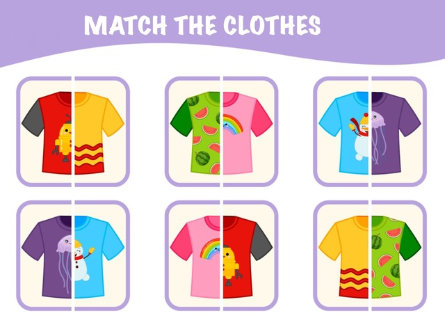 Match The Clothes by Hadi  Oyna